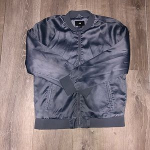 H&M SILVER LUMINOUS JACKET WINTER COLLECTION(RARE)